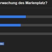 Laut Umfrage Mehrheit gegen Kameraüberwachung - Stadtvertretung entscheidet heute ab 17 Uhr im Livestream.