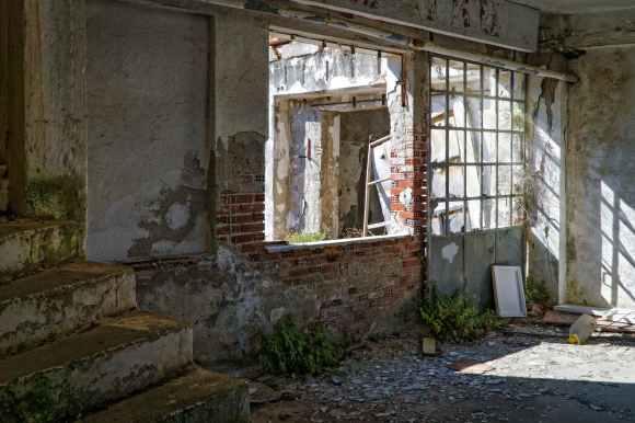 abandoned abandoned building architecture brick
